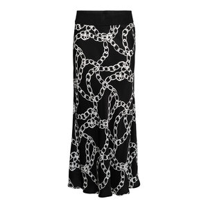 &Co Anna skirt chain 05AW-SK103-A black multi