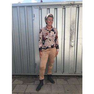 &co lotte blouse jersey 05AW-BL109-V camel multi