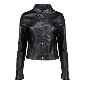 Geisha Geisha jacket parice PU 05546-27 black