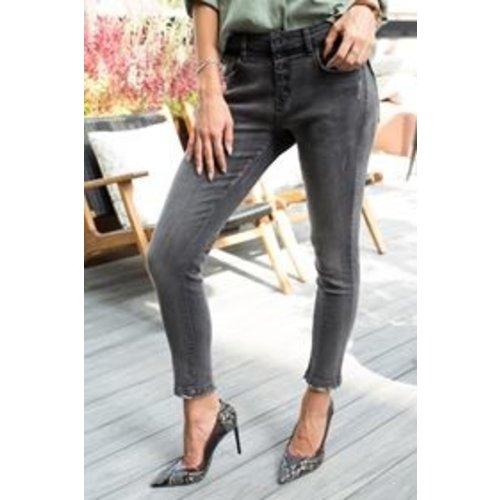 Bianco Bianco jeans Nebbiolo black denim boyfriend 220458