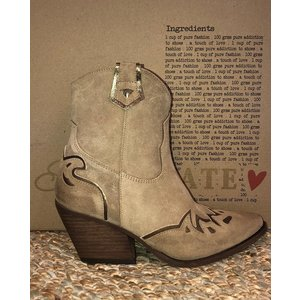 Shoecolate western boots 095.02 cappuccino