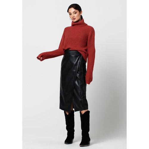 Rut&Circle Rut&Circle skirt Petra 20-03-68 black