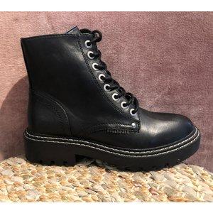BullBoxer Bullboxer boots mat zwart 362505FSA BKBK