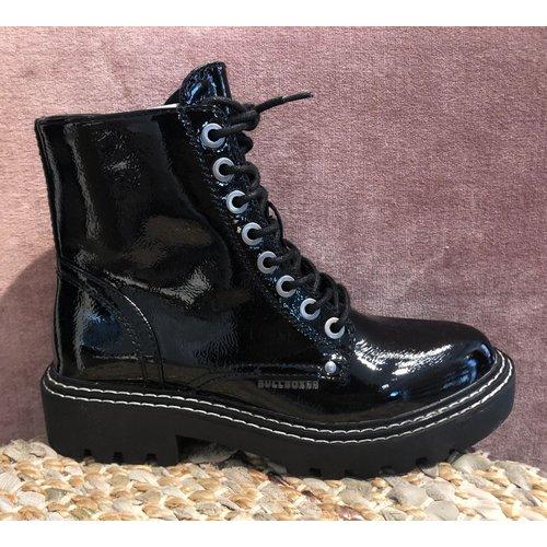 BullBoxer Bullboxer boots lak zwart 362505FSA BKCL