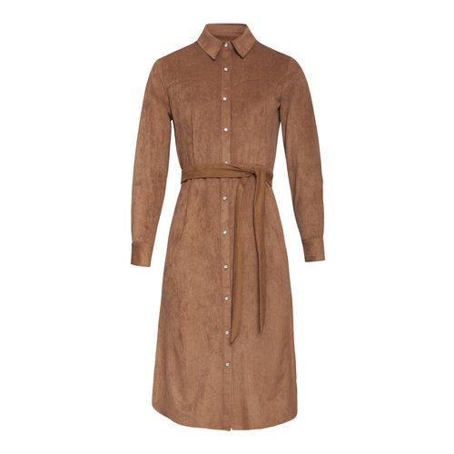 Smashed Lemon Smashed Lemon dress 20662 brown