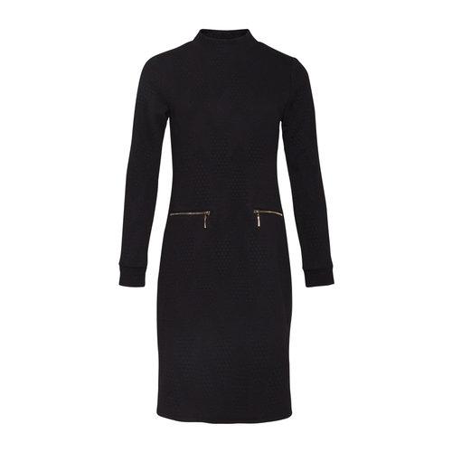 Smashed Lemon Smashed Lemon knit dress 20628 black