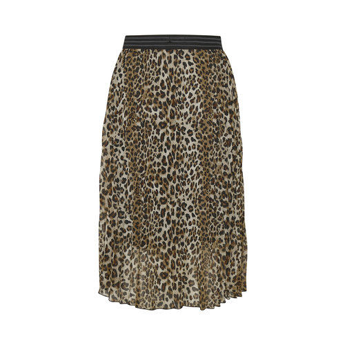 Soaked Soaked SLeteri skirt 30405030 beige leopard