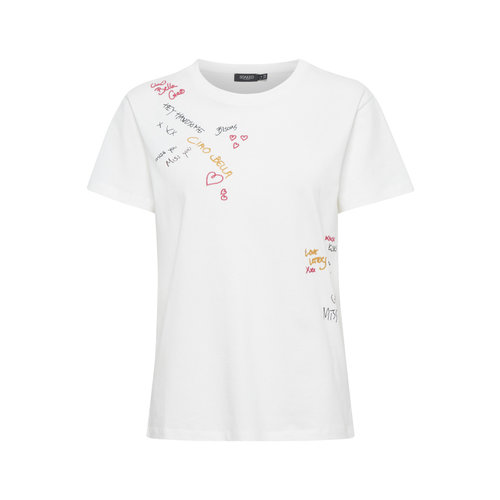 Soaked Soaked SLCiao T-shirt SS 30405065 broken white