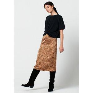 Rut&Circle Rut&Circle Bea skirt 20-03-81 dark beige dot