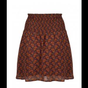 Ydence Ydence Rokje Romy brown/orange print