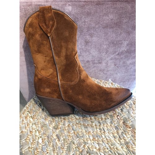 Shoecolate western boots 098.01 cognac
