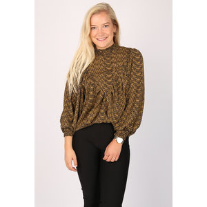 Sisters Point Sisters Point shirt Given 13165 black / camel