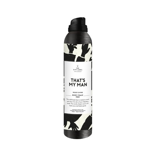 The Gift Label Body foam men - That's my man