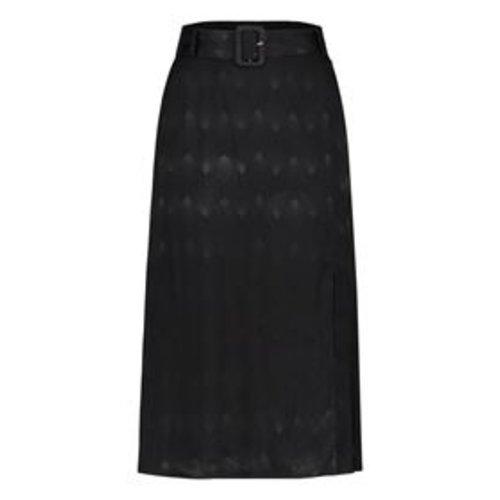 Freebird Freebird Evita Midi Skirt black