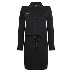 Zoso ZOSO Sweat dress 205Myra Black