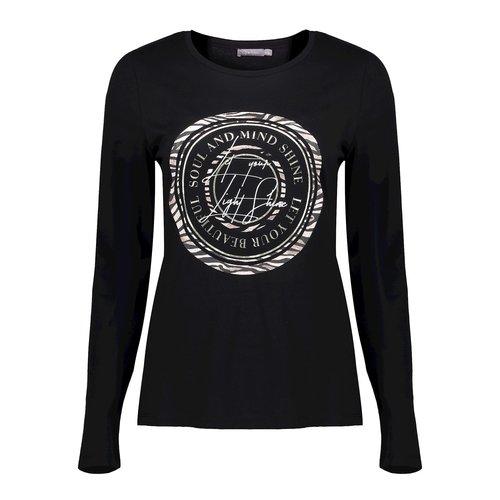 Geisha Geisha t-shirt 02885-41 black