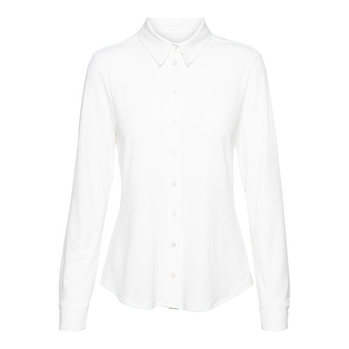 &Co blouse Lotte jersey  ecru