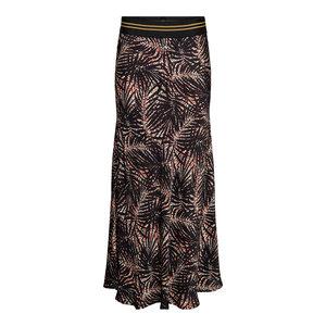 &Co Anna skirt leaf  black multi