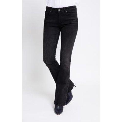 Zhrill Zhril jeans Daffy flare W9215 black