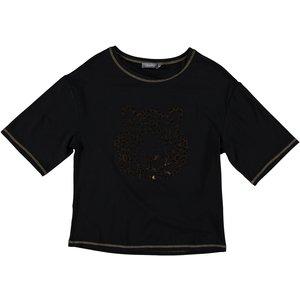 Geisha Geisha t-shirt tiger 02866-46 black