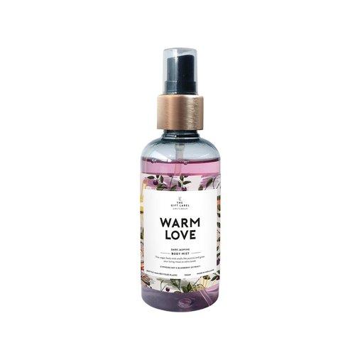 The Gift Label Body mist- Warm love