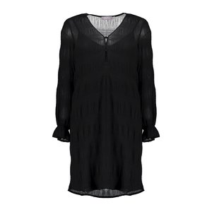 Geisha Geisha dress plisse 07837-99 black