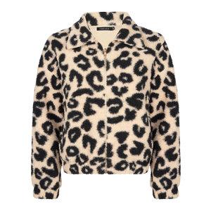 Ydence Ydence leopard teddy jas Jamila black/white