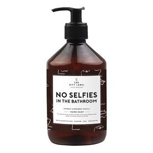 The Gift Label Hand soap 500 ml -No selfies in the bathroom - 1011388