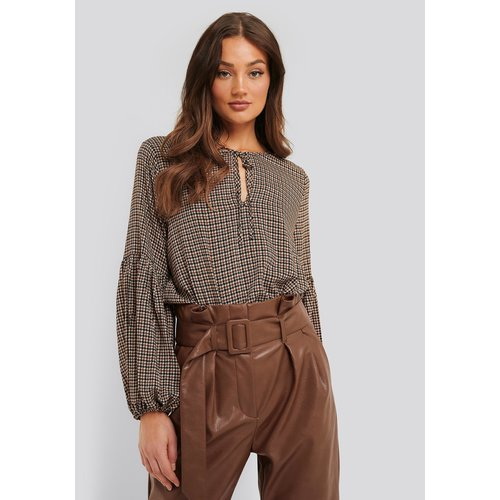 Rut&Circle Rut&Circle blouse Mira 20-04-67 brown check