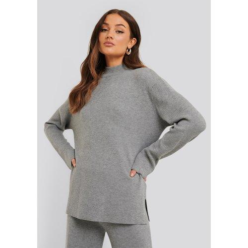 Rut&Circle Rut&Circle knit top Maja 20-04-48 grey melange