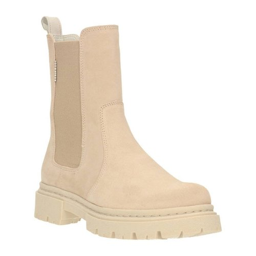 BullBoxer Bullboxer hoge suède chelsea boots beige