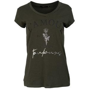 G.Ricceri G.ricceri t-shirt  Amour v-hals