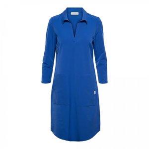 &Co &Co dress Pleun 11ss-dr118-p kobalt