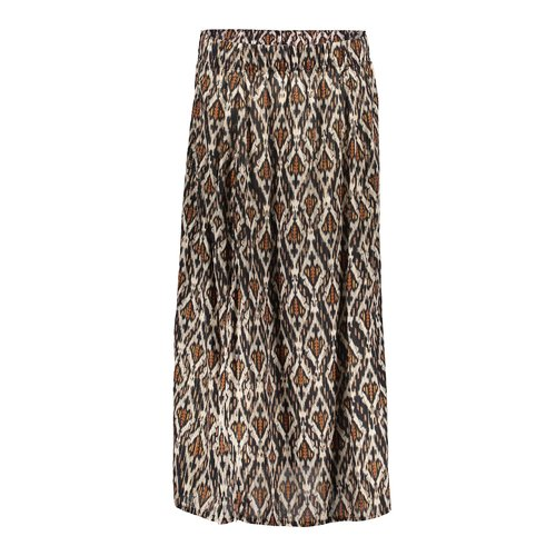 Geisha Geisha skirt 16080-20 black/sand combi