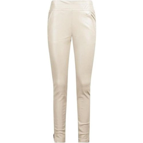 Ambika Ambika leatherlook broek Winsome creme / off-white