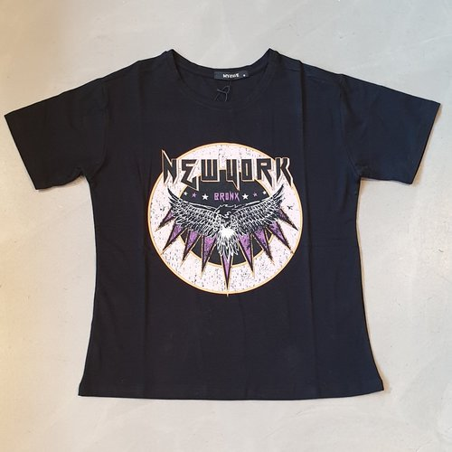 My-Fave T-Shirt Newyork black
