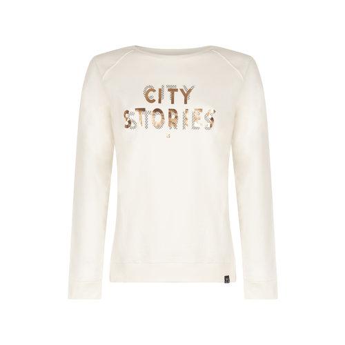 Zoso Zoso sweater 211 Cherry white / black