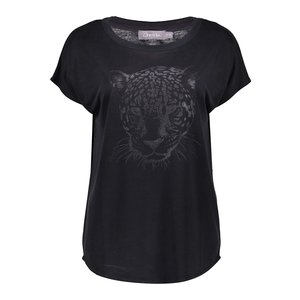 Geisha Geisha t-shirt tiger head s/s 12087-25 anthracite
