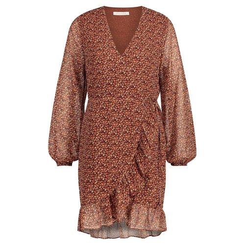 Freebird Freebird mini dress Rosy 01 brown