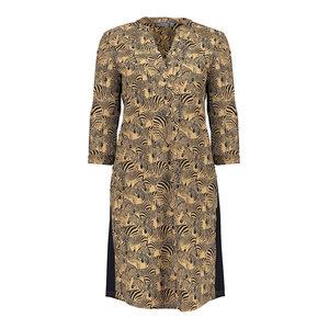 Geisha Geisha dress 17123-20 tabacco combi
