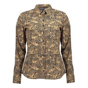 Geisha Geisha blouse 13192-20 tabacco combi