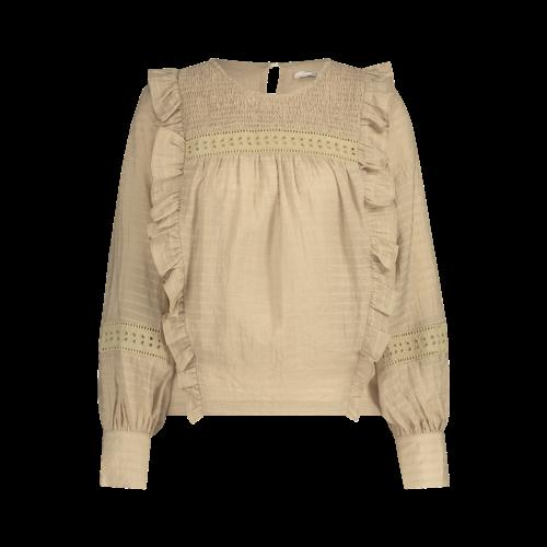 Aaiko Aaiko blouses Zena 515 dusty sand