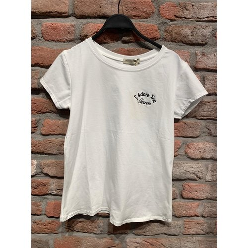 J'adore T-shirt Wit