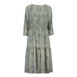 Geisha Geisha dress 17100-20 blue/green combi