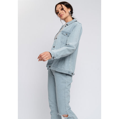 Rut&Circle Rut&Circle Lova Jeans Jacket 21-01-16 mid blue