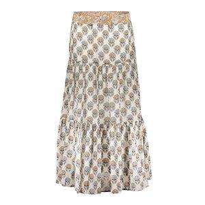 Geisha Geisha skirt 16075-20 off-white/ sand combi