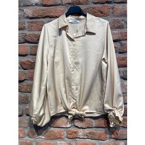 Ambika Ambika Satijnen blouse gold
