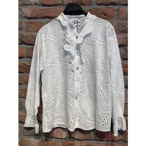Ambika Ambika Broderie blouse One Size (diverse kleuren)