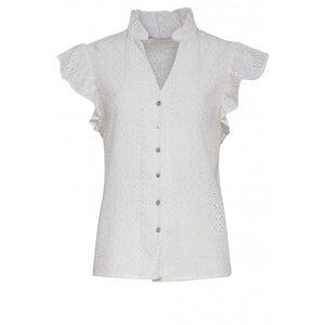 Smashed Lemon Smashed Lemon blouse 21177 white