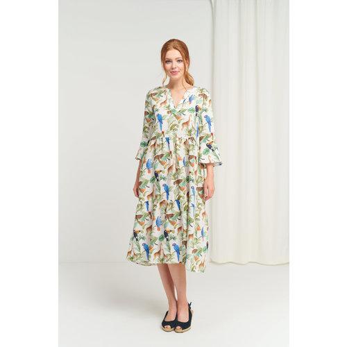 Smashed Lemon Smashed Lemon dress 21192 turquoise-multi